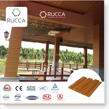 Foshan Ruccawood WPC/Wood PVC Mould Resistant, Decorative Wall Panel or Ceiling panels204*16mm