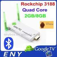 2015 Factory hot EKD03 ENY Rockchips 3188 Dual Core Mali-400MP 1.6GHz 2G/8G EKD03 xbmc player