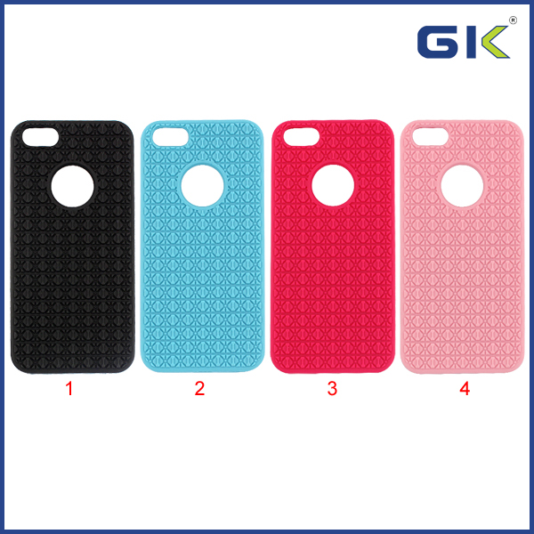 [GGIT] New Antiskid Oracle Design TPU Phone Case For IPhone 5G 5S SE Cover