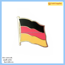 China manufacturers custom Promotion Metal Crafts soft enamel country flags pin