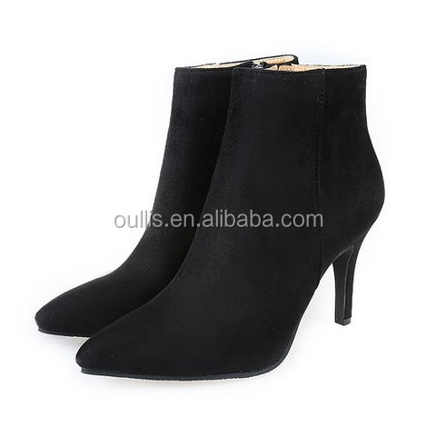 Mega March Sourcing 2017 fashion simple ankle boots low price high quality boots PC4095