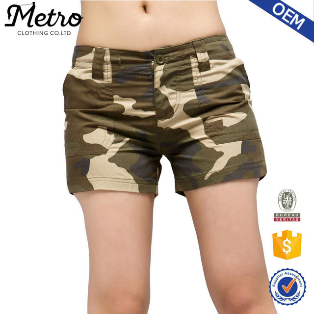Women's camouflage shorts,couples shorts 2016 New Arrival