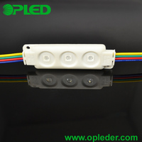 Trending hot IP65 3 5050 RGB Injection led module light for channel letters