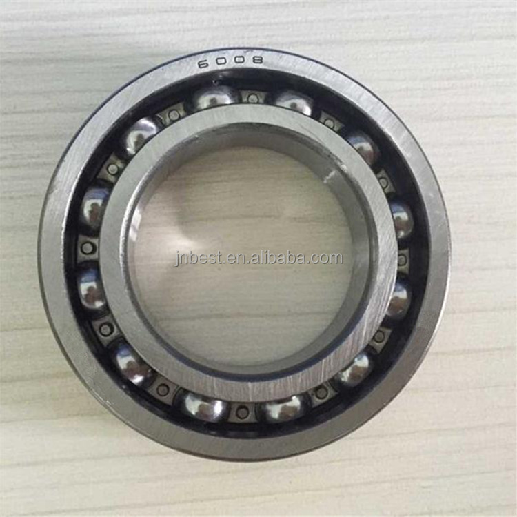 high speed bearing deep groove ball bearing size 6008 bearing machinery parts