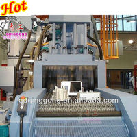 Continuous Conveyor Belt Shot Blasting Cleaning Machine For iron tower welded steel structure
