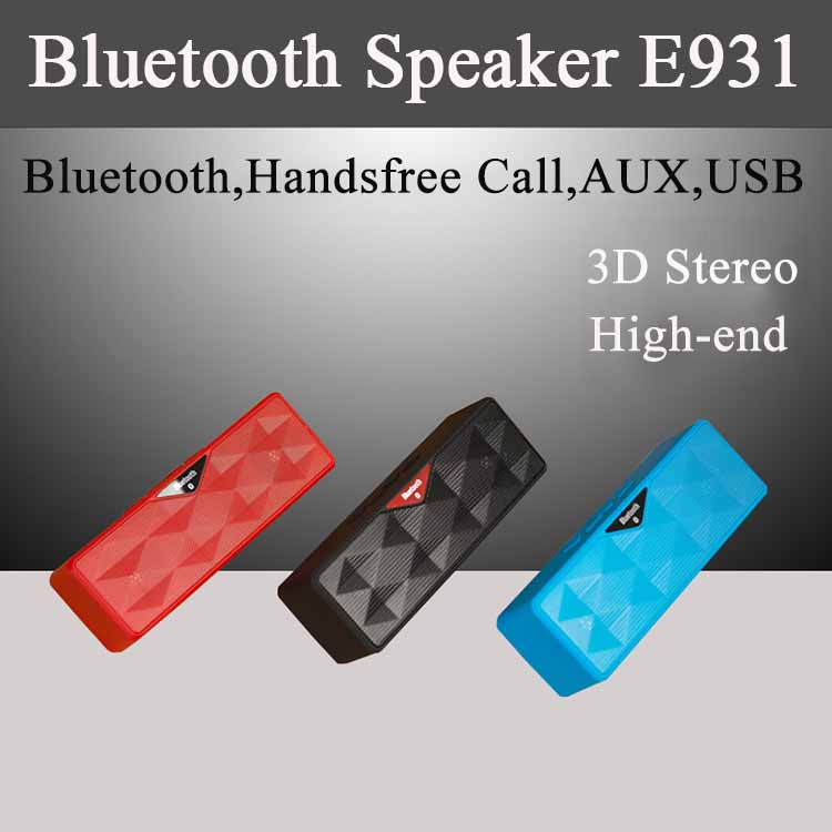 New Arrival Cheap Loud Sound Wholesale E931 Bluetooth Portable Multimedia Speaker Bluetooth Portable subwoofer speaker