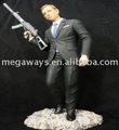 movie action figure with gun of Jame band 007