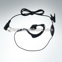 Mini PTT headset for all handheld radios walkie talkie