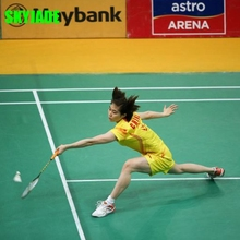 PVC 100% New Materials Indoor Badminton Court Flooring Mat