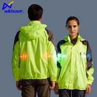 Cycling project men's waterproof jacket with removable lining