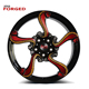Colorful aftermarket mag 18inch modified snake wheel rims