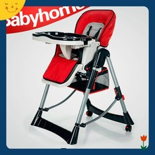 EN14988 approved plastic baby high chair baby feeding chair