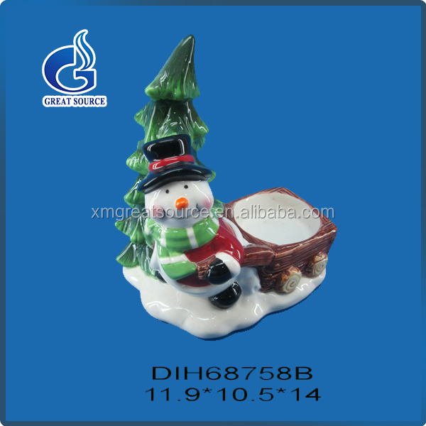 Multi-purpose sweet christmas characters tea light holder with low price
