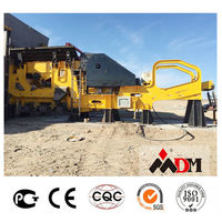 China Top 1 small size mobile crusher for sale certified by CE ISO GOST