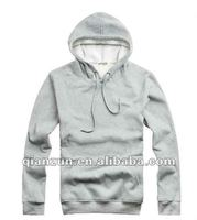 2012 autumn Mens casual comfortable autumn fleece jacket with cotton and polyester material