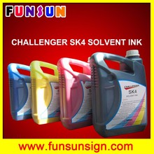 original SK4 solvent ink for Infiniti solvent printer Challenger solvent printer Phaeton solvent printer