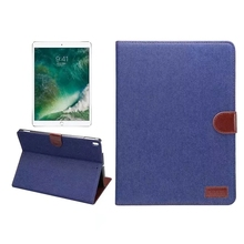Newest For iPad Pro Jean Leather Cover Magnetic For iPad 8 10.5 Flip Stand Case Cover