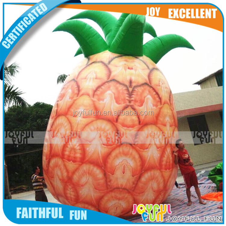 Well Made Inflatable advertising pineapple Giant advertising inflatable Type