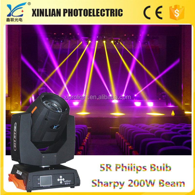 Professional manufacturer beam 200 5r sharpy light price moving head