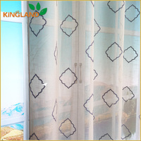 Modern hanging decorative string window curtains fabric