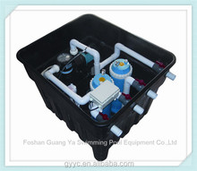underground filter system for swimming pool, underground pool polyester fiber filter, underground filter system