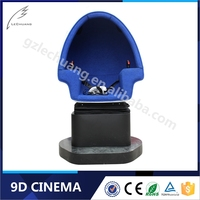 9D Egg Virtual Reality 3D Glass One Seat 9D Cinema Suppliers For Wonderful VR Movies