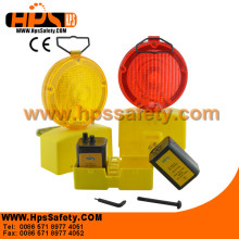 2014 China Manufacturer Two or single 6V 4R25 Battery LED Traffic Road Lamp/battery warning Lamp For Road Safety