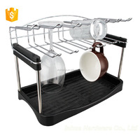 2015 Lastest Design Chrome Plating Cup holder Rack