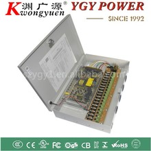 Metal Box 12V 20A power supply 18CH centralized self-recovery power adapter for CCTV System