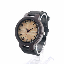 Fashion USA hot style men's wooden quartz watch wholesale quartz watches with factory direct price