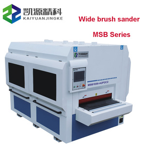 Wood door sanding machine