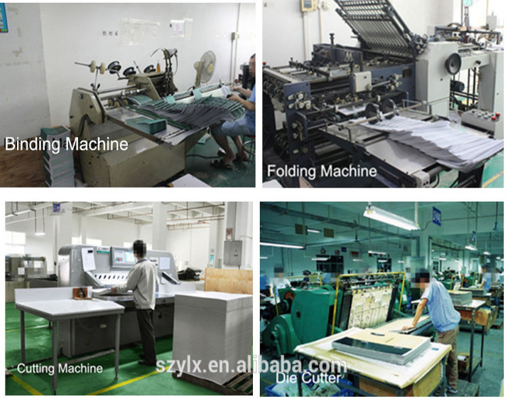 custom design book printing factory