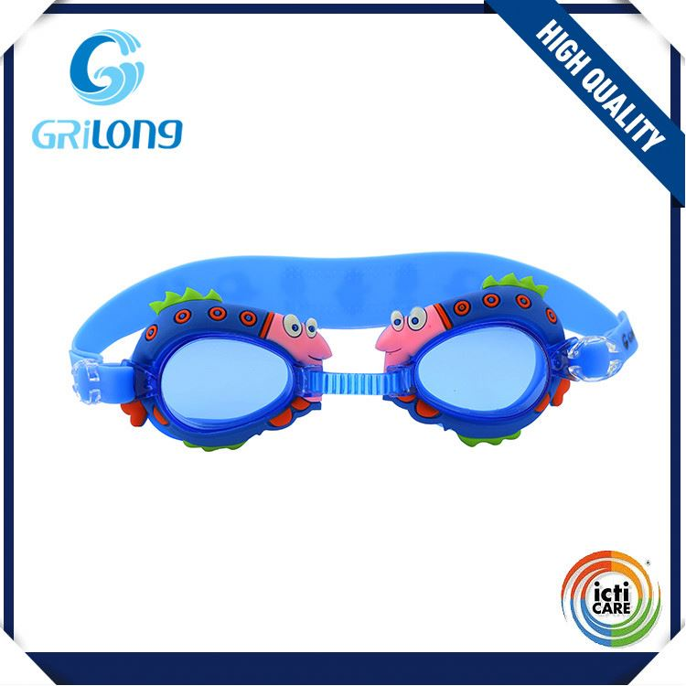 New coming attractive style safety kids swim goggles with reasonable price