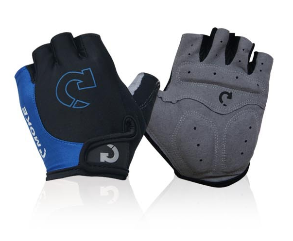 Competitive Price and OEM Accepted Unisex Half Finger Padded Bicycle/Cycling Gloves