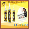 300ml black glass silicone sealant,Excellent Economical silicone sealant, China manufacturer of acetic silicone sealant
