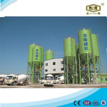 Engineers available to service overseas Zhengzhou Jinlong easy install concrete batching plant