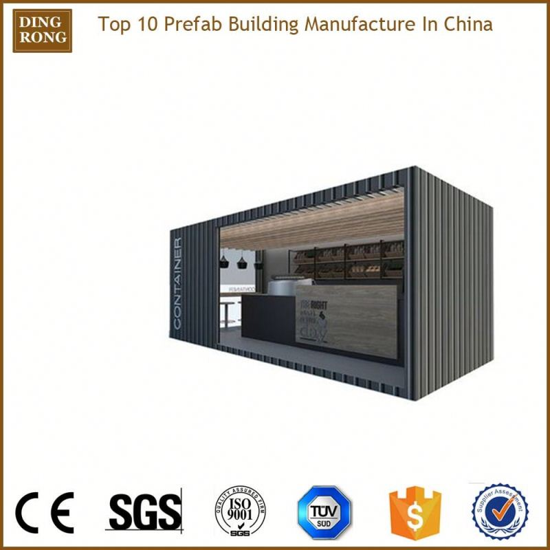 fully furnished knockdown transportable ware house structures