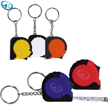Promotional mini tape <strong>measure</strong> key chain custom printed tape <strong>measure</strong>