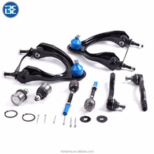 Control Arm Ball Joint Tie Rods Set 8 Pcs Suspension Kit
