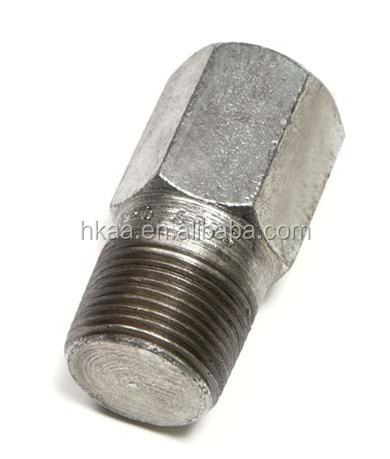 Made in China carbon steel bull plug,hex thread bull plug