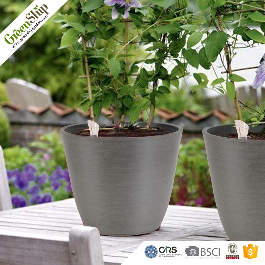 Decorative Plastic Cheap Flower Pots Wholesale From