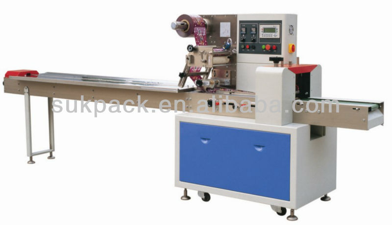 sandwich bread packing packaging wrapping machine