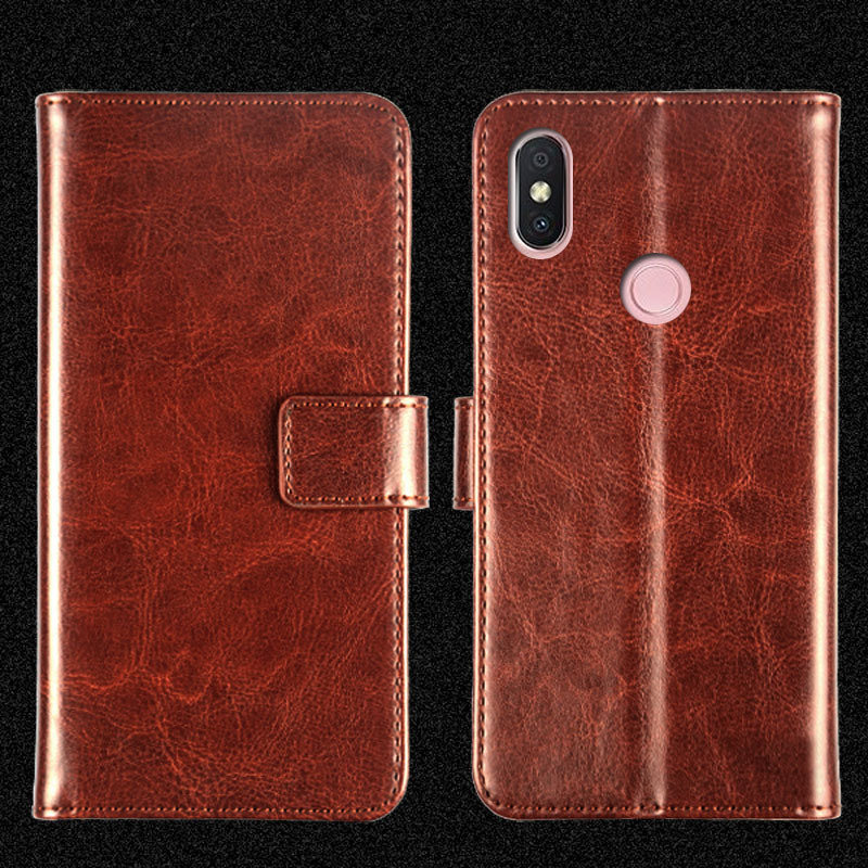 PU Leather Flip Hip Holster Mobile Phone for redmi <strong>y2</strong>