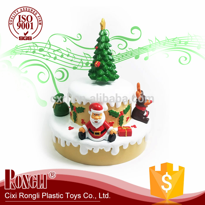 High Quality Wholesale Custom Cheap Christmas Music Box with Snowman