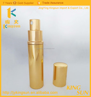 New design portable colored glass perfume bottles for sale