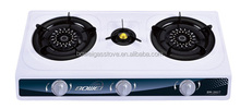 Lighter Three Burners Gas Stove , Non-stick Iron Cooktop , Portable Cooking BW-3028