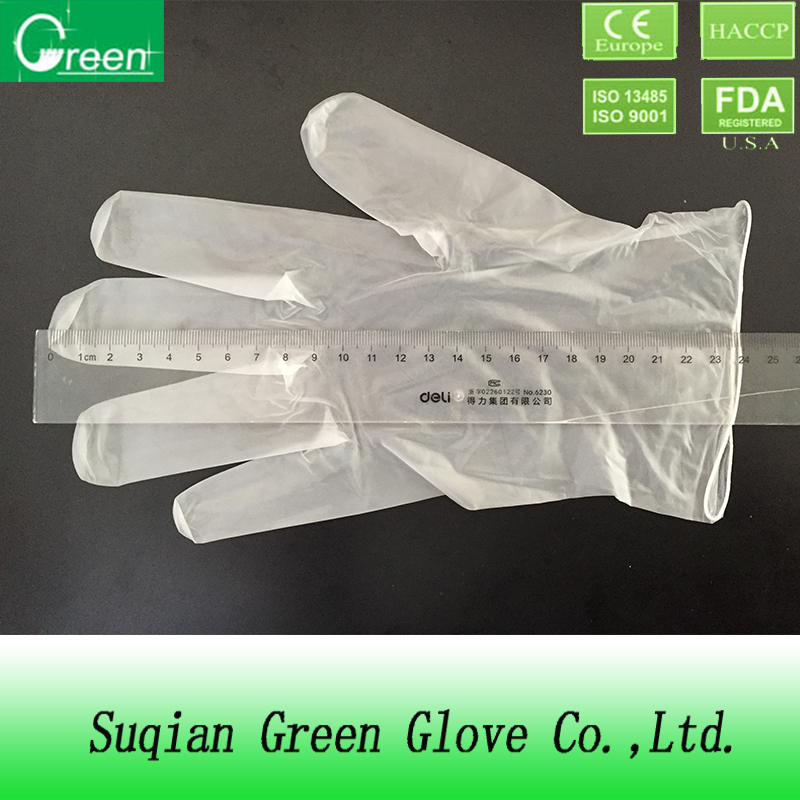 clean room work vinyl gloves