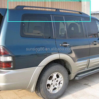 SUV cross bars Roof side rails racks mitsubishi pajero accessories