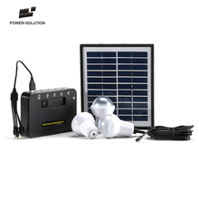 Mini solar <strong>system</strong> home power kit with mobile phone charger