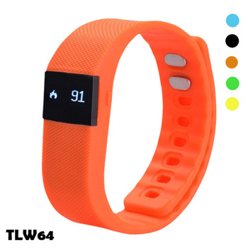 Trending hot products 2016 rubber bracelet professional BT smart bracelet manual fitness tracker